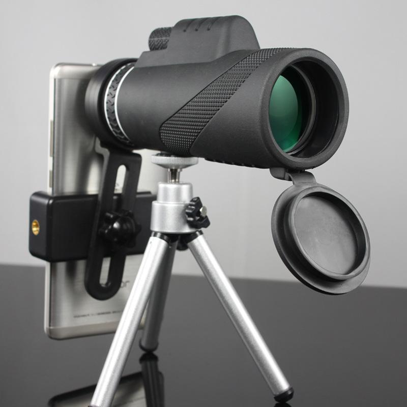 Leistungsstarke Ferngläser Monokular Nachtsicht Hohe Qualität Zoom Great Handheld Teleskopemilitär HD Professionelle Jagdteleskope