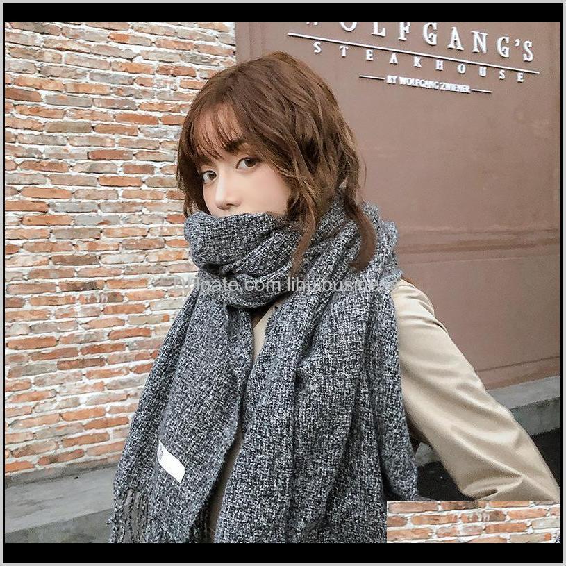 Envueltos sombreros, bufandas guantes moda aessoriessydney con clip de color sólido en otoño / invierno hembra coreano cachemérano engrosado decoratio cálido