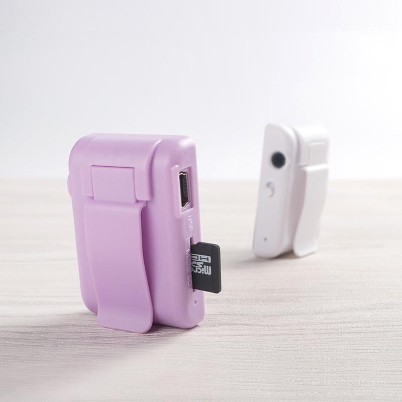 & MP4 Players Portable Mini MP3 Music Player With Mirror Clip USB Digital Supports 8-128GB SD TF Card Fashion Hifi For Outdoor