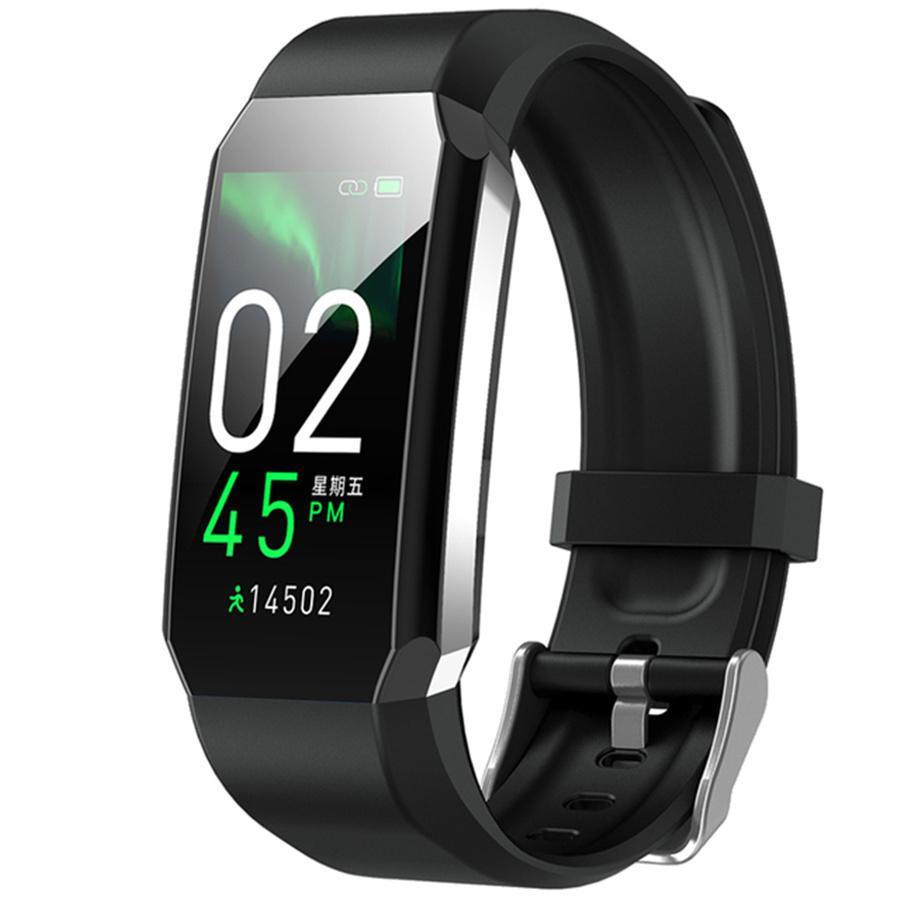 2021 Smart Watch Bracelet Body Thermometer Blood Pressure Fitness Waterproof Sport Smart Watchs Band For Men Women