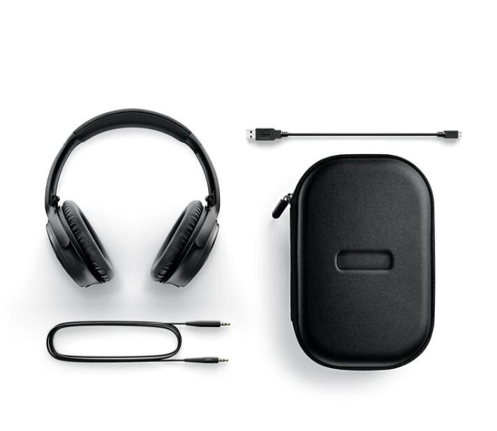 High Quality New Q 35 II Active Noise Cancel ANC Headphones Wireless Bluetooth Headset Foldable Carrying