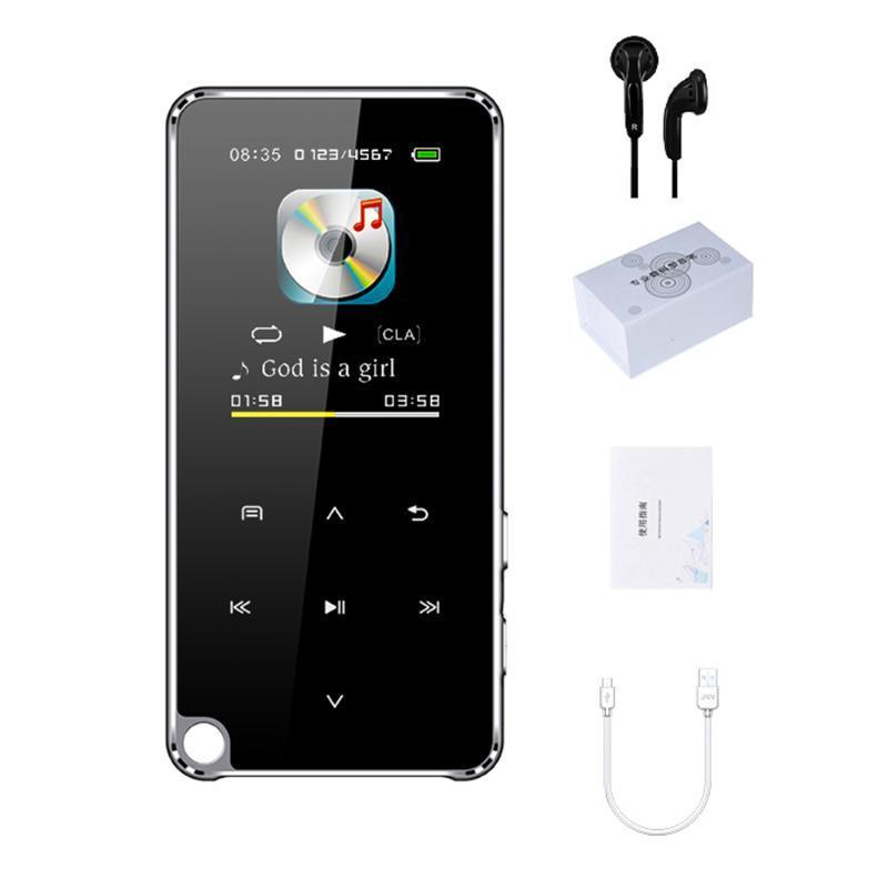 Lettori MP4 M25 Lettore MP3 con altoparlante Bluetooth 4G / 8G / 16G / 32G Memoria HiFi Sound Sound 3.5mm USB 2.0 WAV Formato Mini Portable Personal Stereo