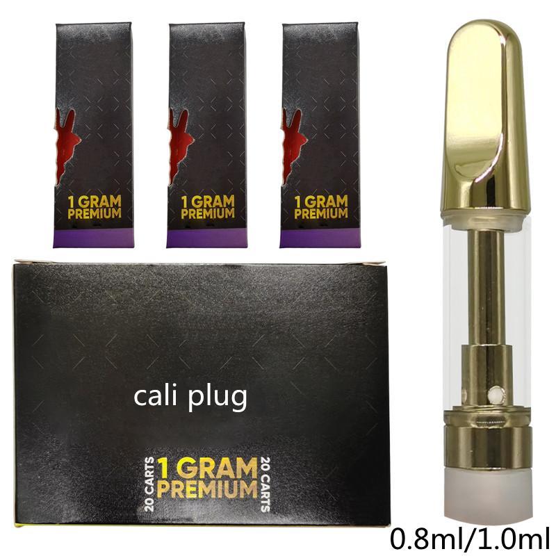 جولة المعبرة 92A3 خراطيش القلم Vape القلم النفط المرذاذ 0.5ML 1ML خرطوشة الزجاج Vape 510 الموضوع المزدوج لفائف البخاخة الزجاج خزان الذهب