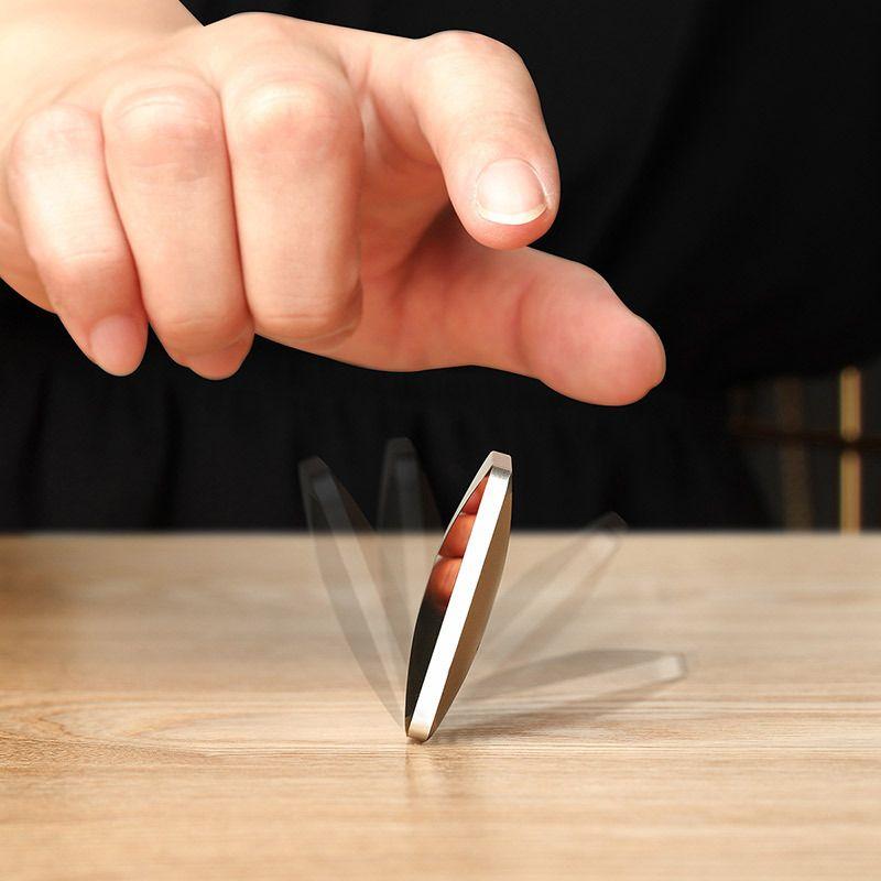 Favo di festa Flipo Giocattoli Flip Giocattoli Decompressione Artifatto Fingertip Gyro Giocattolo Desktop Dancing Energia Kinetic Pacchetto individuale