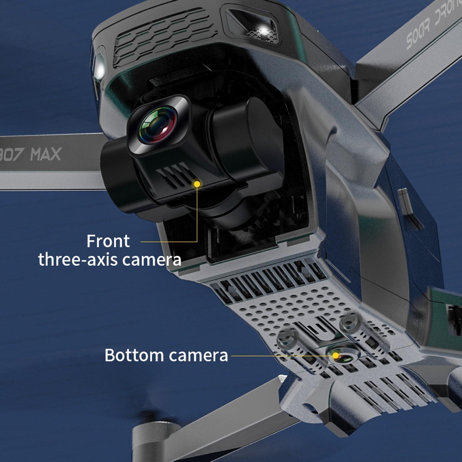 2021 جديد SG907 ماكس GPS بدون طيار 3-Axis Gimbal 5G WiFi FPV RC كوادكوبتر مع 4K HD كاميرا فرش الهوائي التصوير الجوي للطي درن