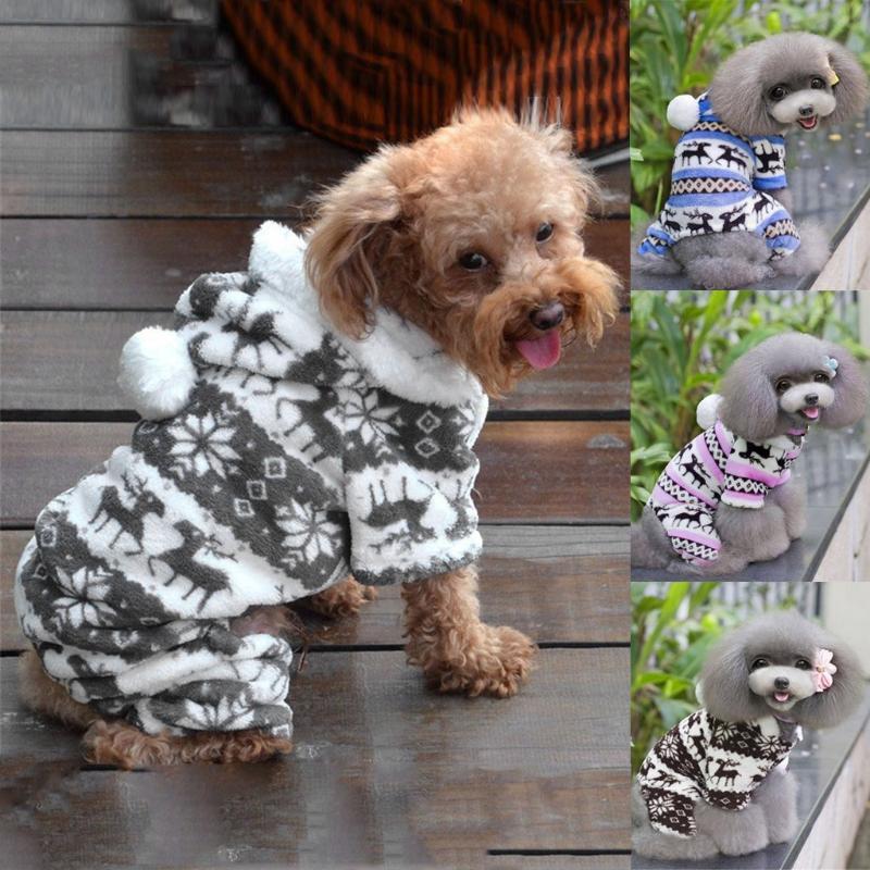 Cão vestuário Cat Sweater Hoodie adora Jumper Jersey Pet Cachorrinho Casaco Casaco Roupas mornas para gatos Pequenos médios de algodão de pelúcia
