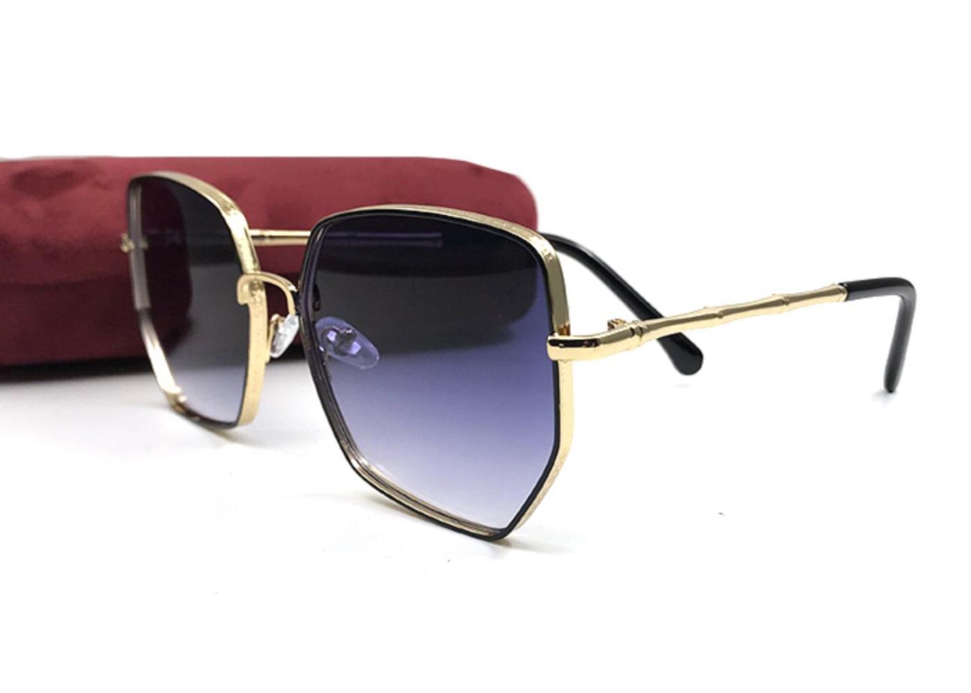 العصرية خمر المعادن امرأة النظارات الفريدة غير النظامية شكل عدسات حزب الشارع اطلاق النار نظارات شخصية للإناث oculos مع القضية