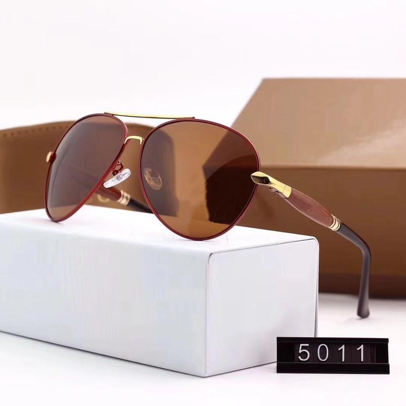 Top Qualität Mode Vintage UV400 MENS Womens Marke Designer Sonnenbrille Damen Sonnenbrille mit Etagen und Box 4 Farben G5011
