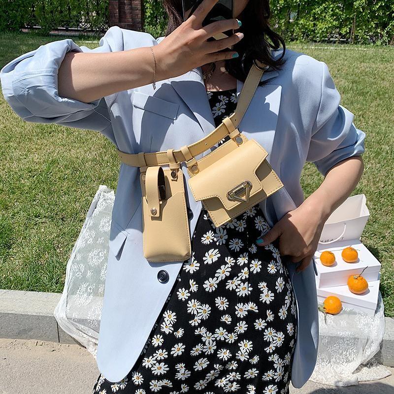 جديد تصميم بارد صغير بو الجلود فاني حزم للنساء 2020 حقيبة سفر حزام الخصر حزم الإناث الهاتف المحافظ سيدة الصدر الحقائب 16