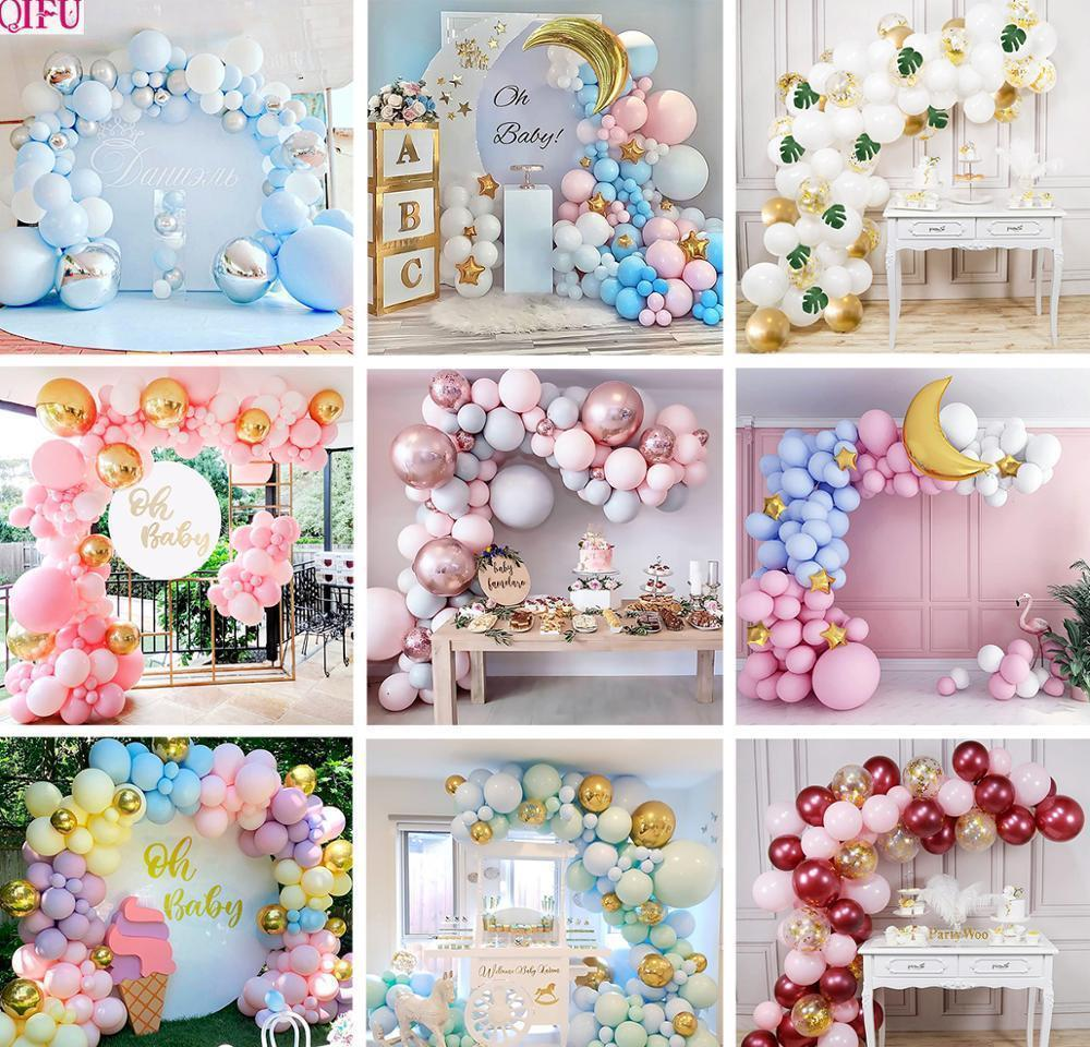 Novelty Gag Toys & Gifts Drop Delivery 2021 Chain Oh Baby Shower Boy Or Girl Arch Kit Balloon Garland It My First Birthday Balloons Set Ballo