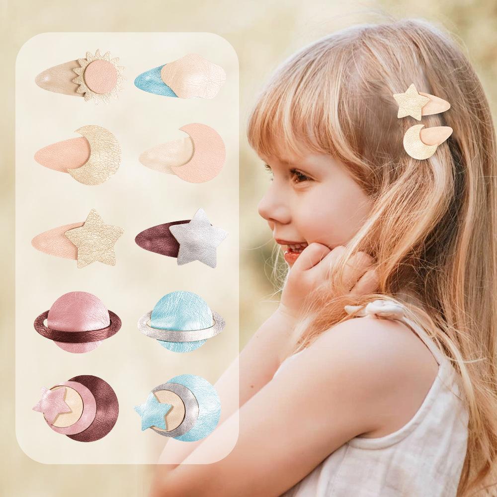 Free DHL MQSP Mini Small Hairpin for Baby Girls Toddler Fashion Cute Hair Clips Accessories Kids Princess Kawaii Barrettes Party Supplies Children