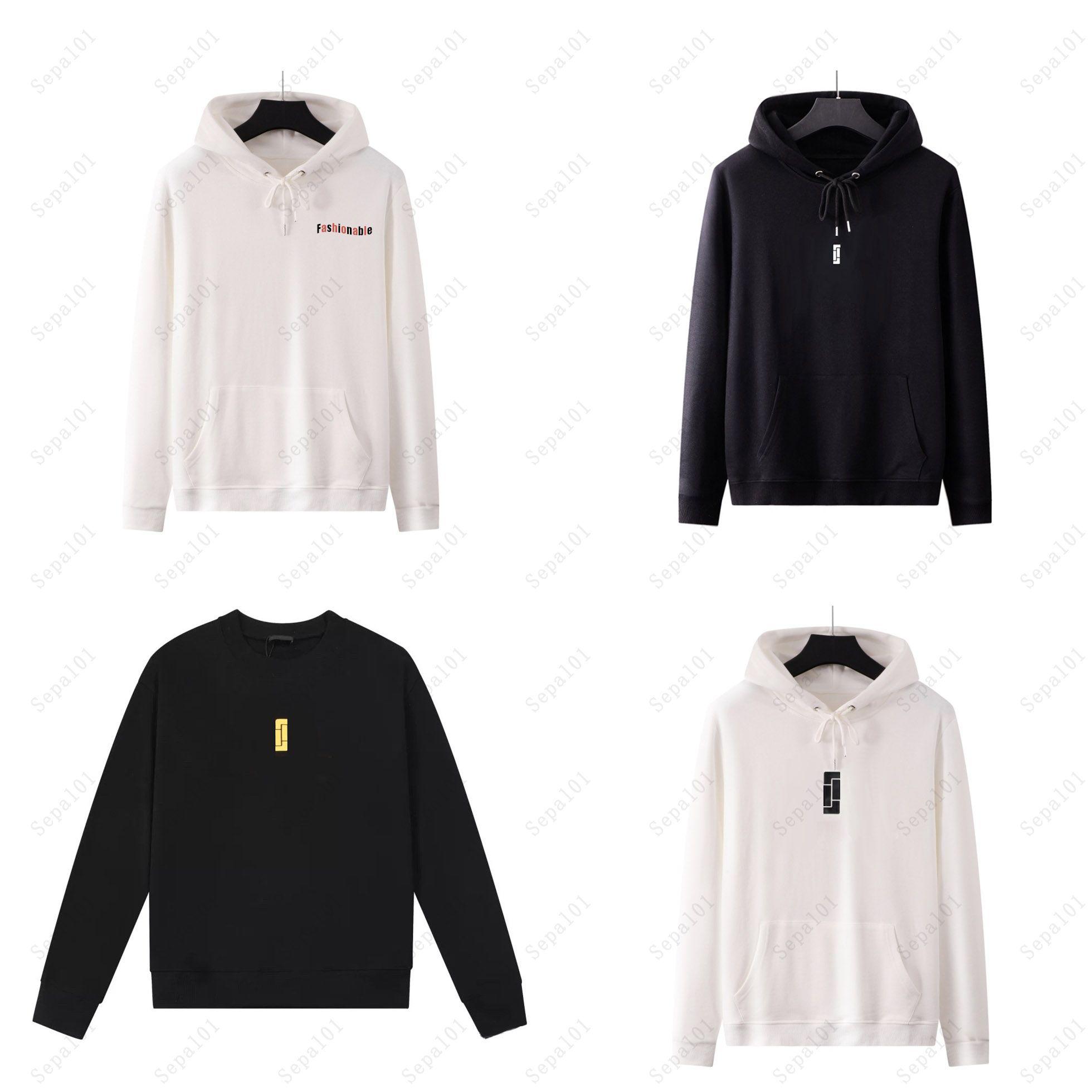 20FW para hombre con capucha para mujer con el patrón de bloqueo en frente 2020 nuevos con capucha ropa de niñas Hiphop con capucha Streetwear lavado de materiales