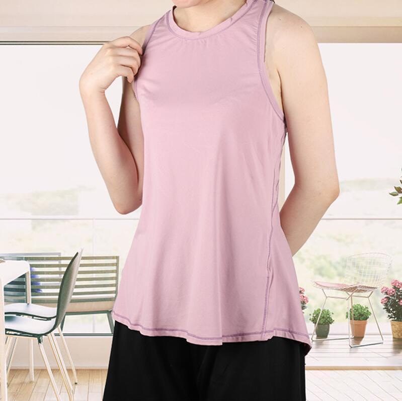Moda Kadın Tasarımcı Camis Yaz Kolsuz Casual Katı Renk Tankları Bayan Nefes Tişörtleri Tees Yüksek Kalite Tops
