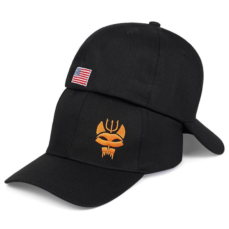 """قبعات الرجال والنساء """"سلسلة ختم فريق"""" التكتيكية قبعة البيسبول snapback قبعة مستطيلة الجري / الصيد"""