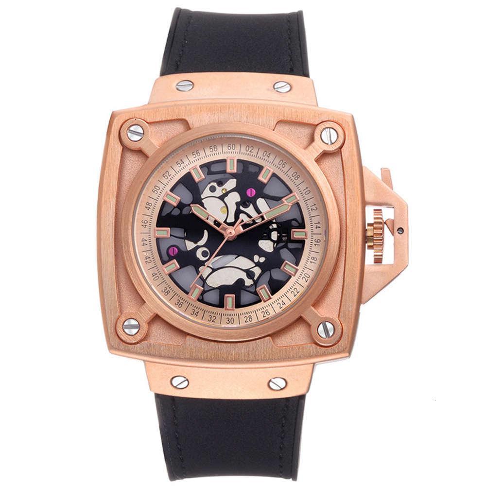 Relógios de pulso de relógio de relógio de relógio masculino personalidade de moda grande discar luminosa quartzo watchqgvp