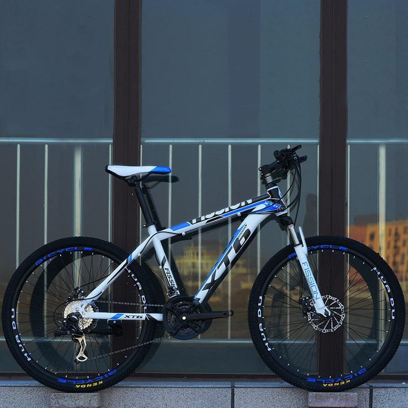 Дюймовый горный велосипед 21 скорость взрослый переменная студент флагманский откровенный двухместный дисковый тормозные велосипеды велосипеды
