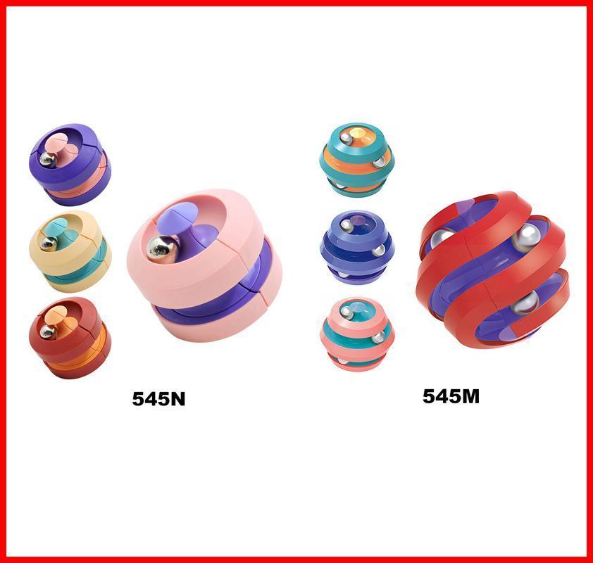 Fidget giocattolo Magia Puzzle Cubi Infinity Fidgets Spinner Fagioli di marmo Stress e ansia Depressione di rilievo per il bambino Adulto con ADHD Autismo