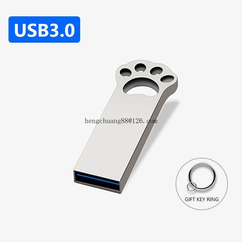 Freeship Multi-function USB3.0 Metal USB Flash Drive 128GB 1/2/4/8/16/32/64 GB Disk Flash Memory Stick Pen Drive LOGO128/256/512MB 2.0