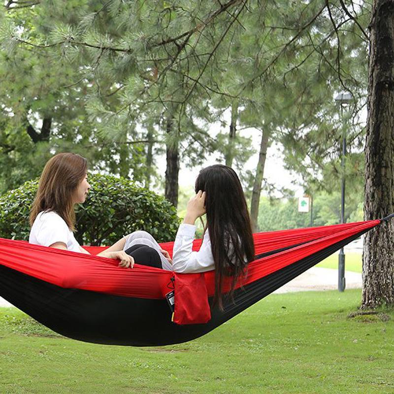 Xinda portaledges ao ar livre camping portátil hammock alto carregamento de carga única balanço duplo (sem mosquiteiro) árvore e cama pendurada