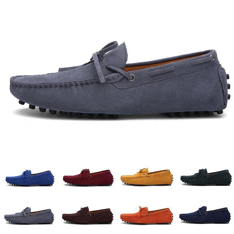 2021 غير العلامة التجارية الرجال الاحذية الأسود الأبيض البيج الأحمر البني البحرية الأزرق رجل الأزياء المدرب أحذية رياضية في الركض في الهواء الطلق المشي # 13