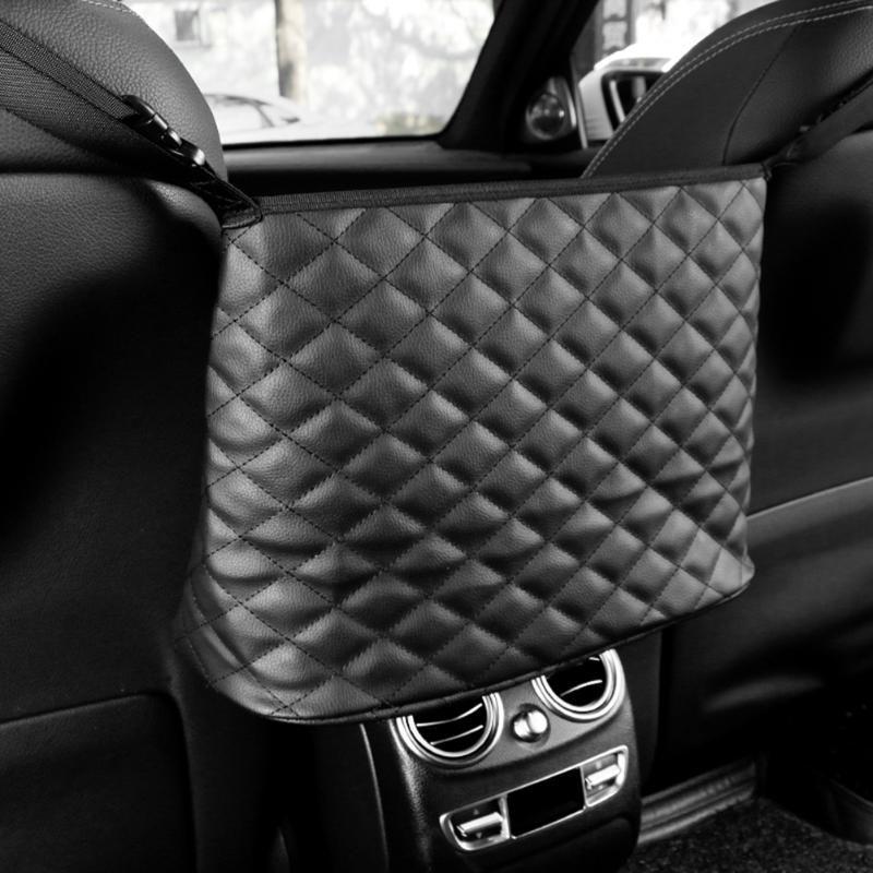 Auto Mesh Net Bag zwischen Organisator SEAT Rückenaufbewahrungshandtasche Holding Gepäckhaltertasche für