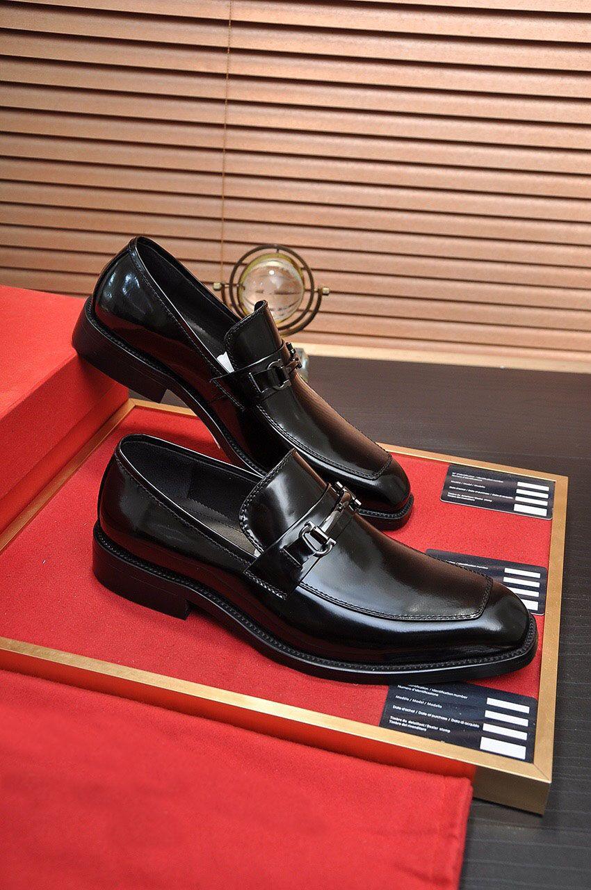 Yeni Gelenler 2021 erkek Moda Damat Düğün Hakiki Deri Örgün Parti Elbise Ayakkabı Marka Iş Rahat Flats Boyutu 38-45