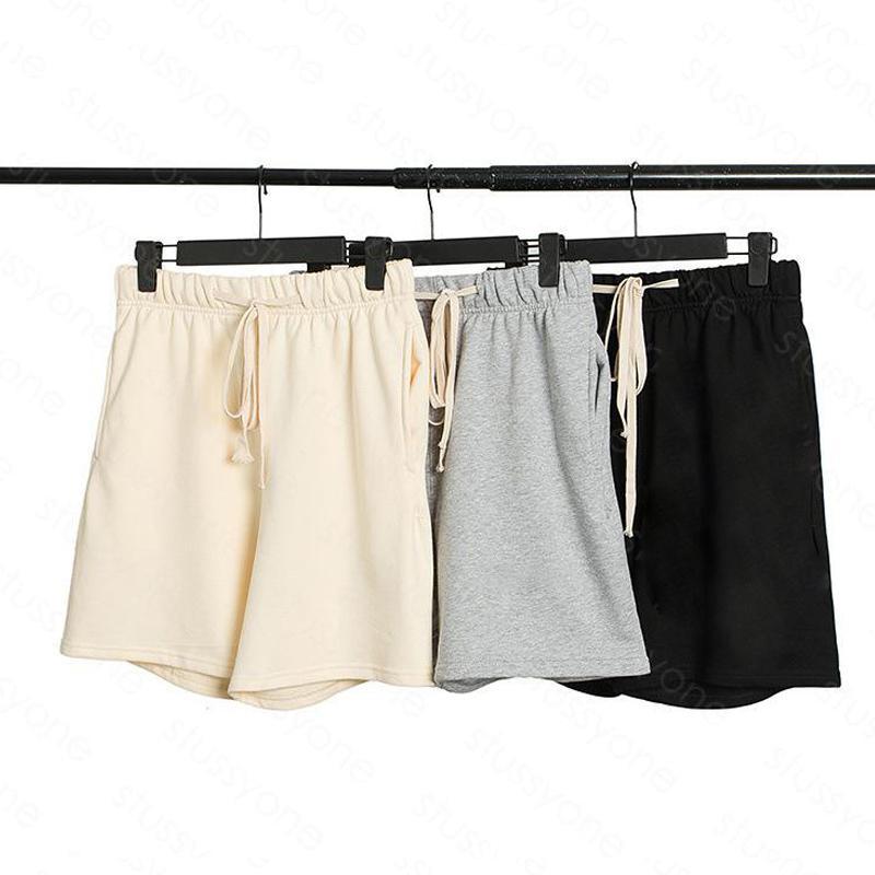 Mens Shorts High Street Imprimir Drawstring Calça Elástica Cintura Ao Ar Livre Fitness Sport Calças Ocasional Respirável Short 3B3D