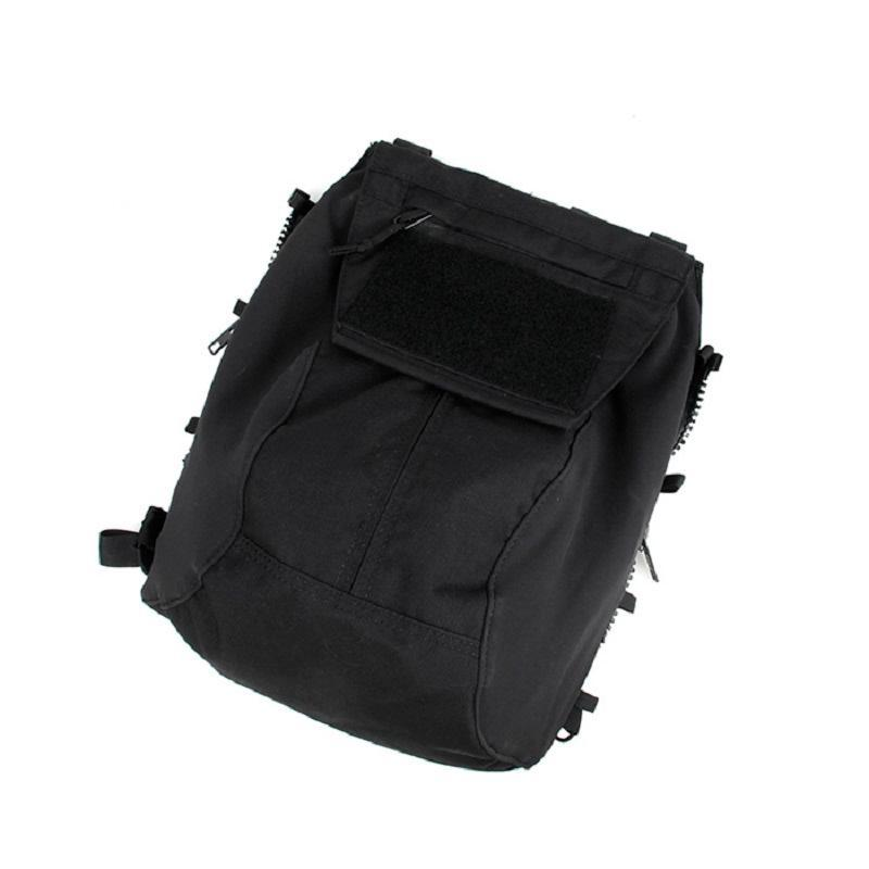 JPC2.0 CPC 전술 조끼 지퍼 가방 2.0 후면 패널 500D Cordura 패브릭 사냥 재킷