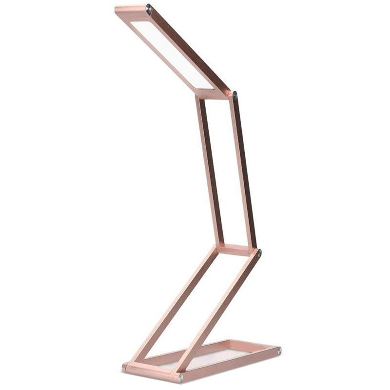 Table Lamps Foldable LED Desk Lamp - Folding Portable USB Light With 3 Brightness Settings For Home, Reading, Studying, Work