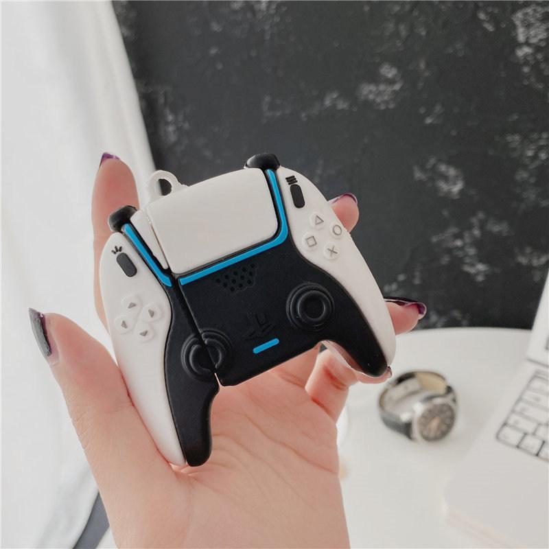 Apple Airpods 1 2 3 Pro New PS5 게임 디자인 소프트 실리콘 케이스 무선 블루투스 이어폰 커버