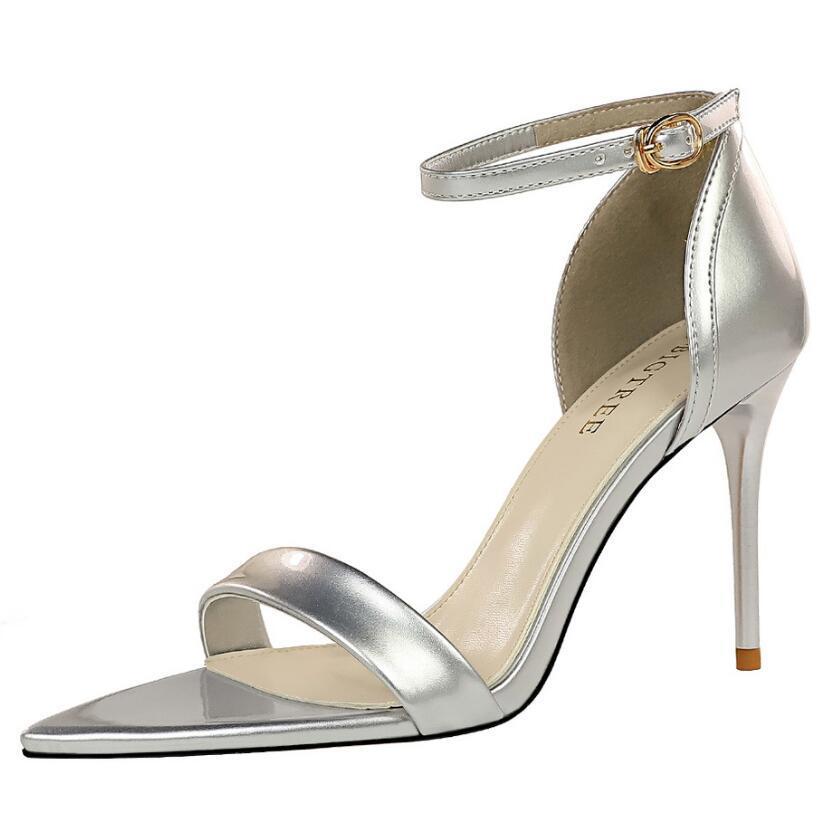 Luxus Hohe Qualität Heels Sandalen Frauen Designer Mode Ferse Schuhe Echtes Leder HEELED Staubschutz Tasche mit Schuhkasten Damen Sandale