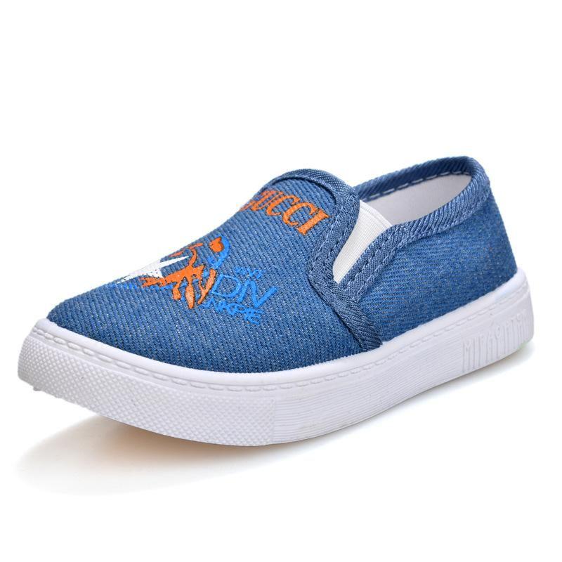 Sneakers Çocuklar Kanvas Ayakkabı Erkek Kız Moda İlkbahar Sonbahar Espadrilles Çocuk Casual Düşük Üst Eğitmen