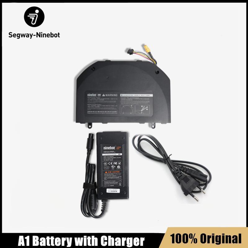 Batterie de mise à niveau d'origine avec chargeur rapide pour NineBot One A1 Scooter SCOOTER SCOOTER SOCIOLE SCOOTER 54.3V 155WH