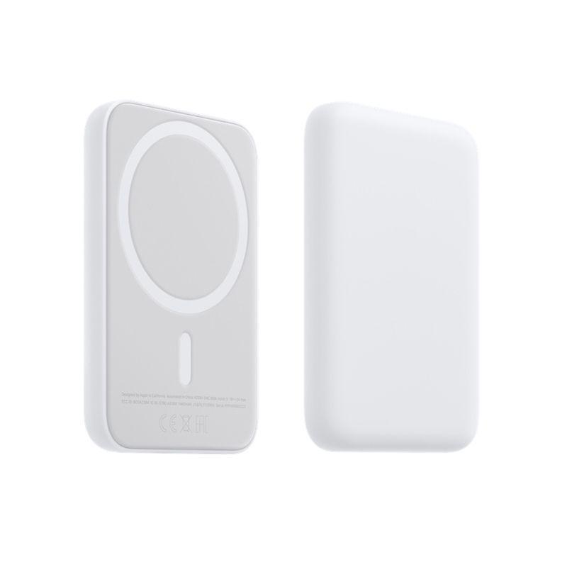 Magsafe Power Banks가있는 배터리 팩 원래 로고 공식 소매 상자 무선 충전기 PowerBank 아이폰 13 12 Pro Max Mini