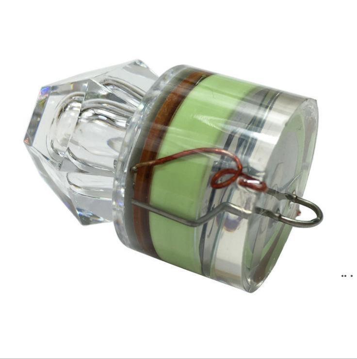 Garten liefert Tiefsee-Diamant-Lichtköder Nachtangeln LED Poly-Unterwasser-leuchtendes wasserdichtes Fisch-Trap-Getriebe HWD6127