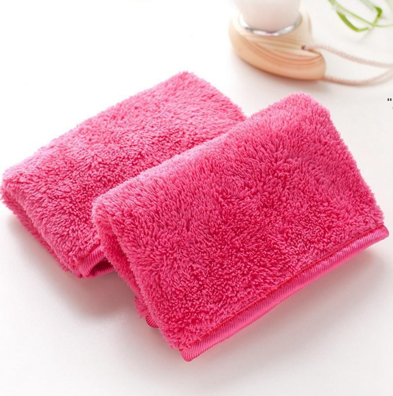 Mikrofasertuch Frauen Makeup Remover wiederverwendbar Make-up Handtücher Gesicht Reinigungstuch Schönheit Reinigungszubehör NHE7020