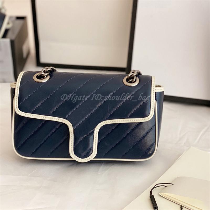 2021 mode luxurys designer maront frauen tasche handtasche quilting schulterklappe kette handtaschen totes crossbody cutch tote fanny taschen dame geldbörsen büretier sackpack