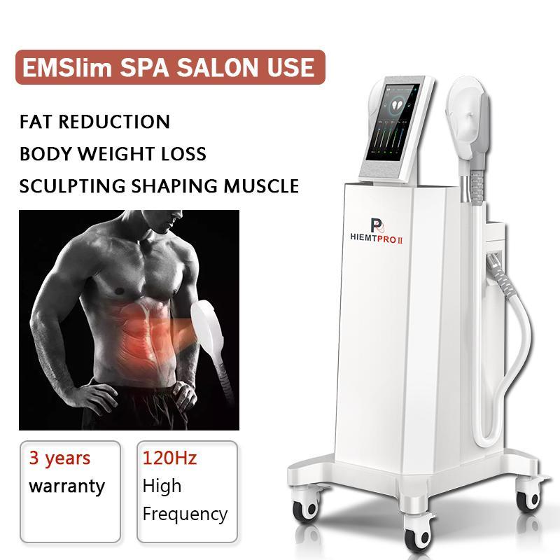 Stimulation musculaire Emslim Stimulation de la forme du corps Hiemt Minceur Machine Dispositif de réduction de la graisse Emshape Cellulite Machines d'élimination