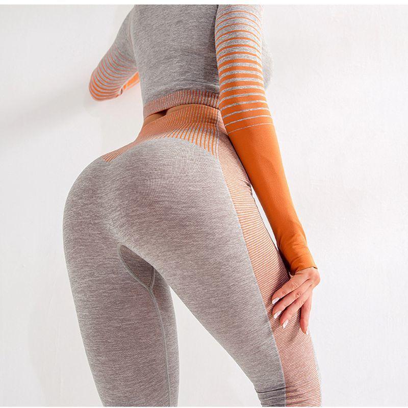 Frauen nahtlose Leggings sexy Kleidung Training Leggings Fitnesskomfort Hosen y0327