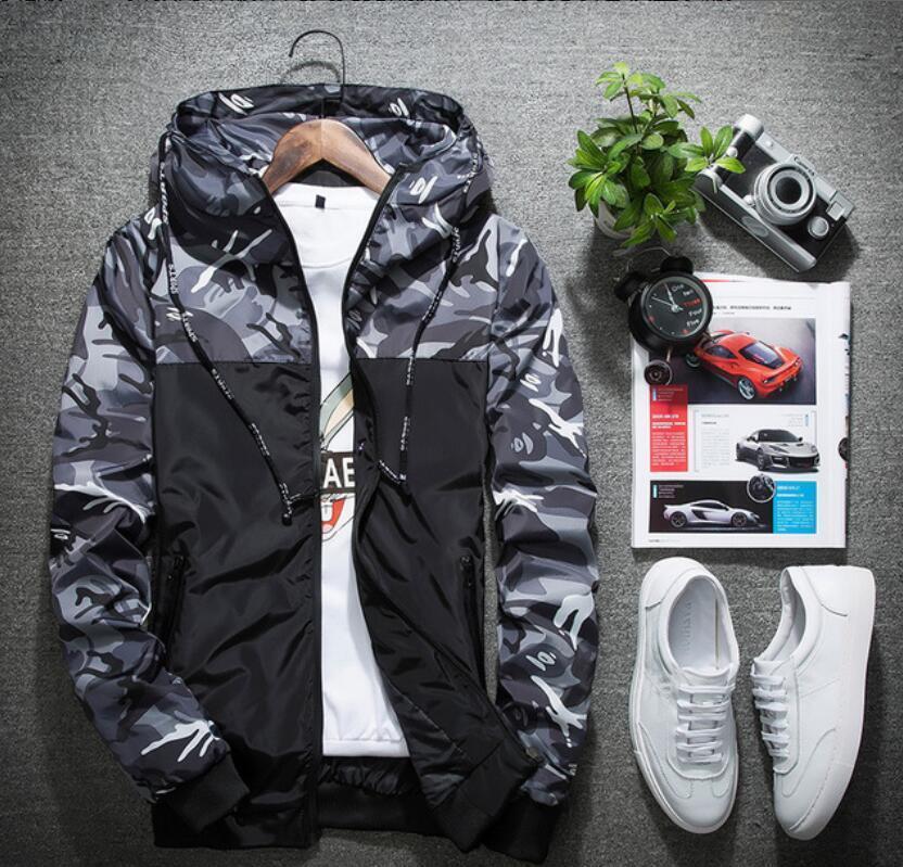 Jaquetas masculinas Mens Hoodie jaqueta de alta qualidade de alta qualidade artesanato jacquard tecido muito bonito estilo de estilo europeu e americano