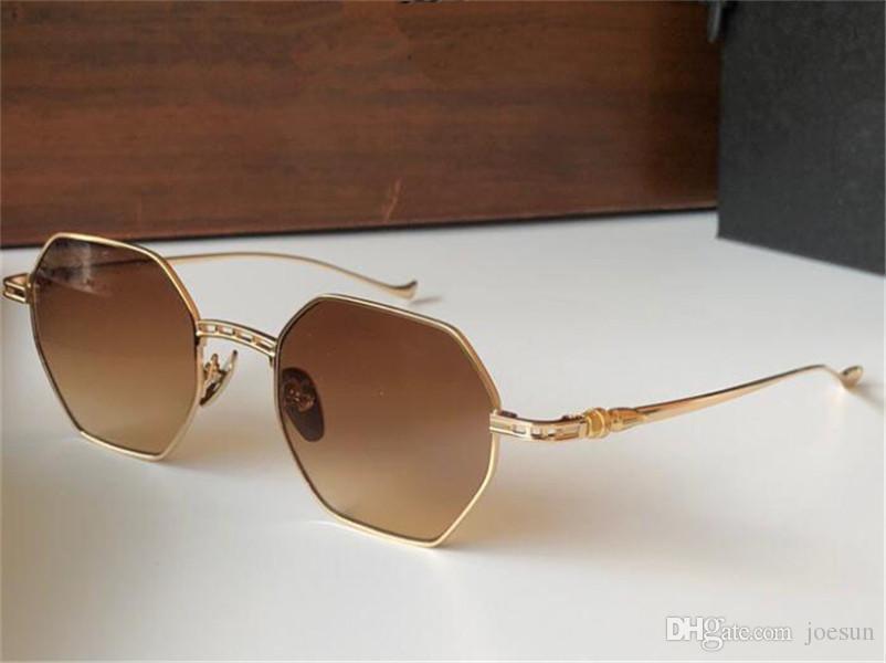 Vintage design de moda óculos escavável multilateral quadrado quadro de metal retro estilo simples e versátil uv400 óculos protetores top q