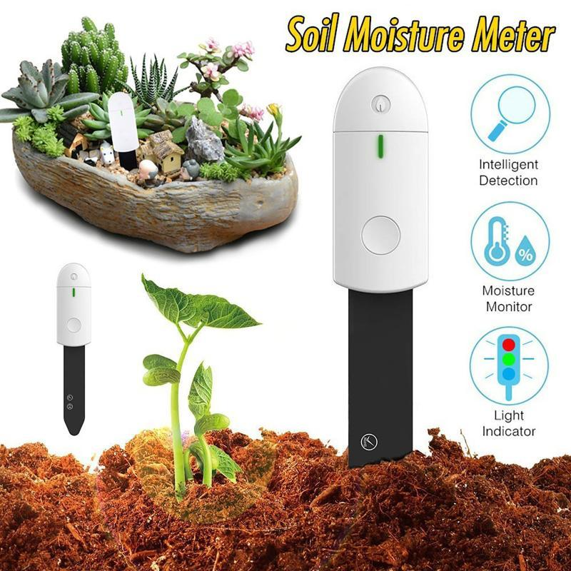 Mats & Pads 3 In 1 Soil PH Meter Sunlight Tester Garden Flowers Moisture Sensor Plants Acidity Humidity Monitor Detector