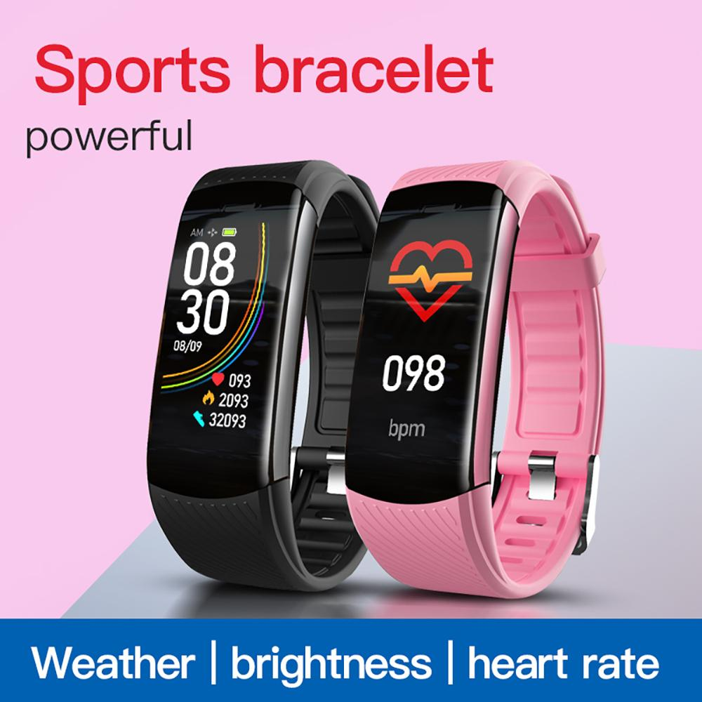 Smart Wristbands C6t sports watch, heart rate fitness tracker measure body temperature, blood pressure, health monitoring