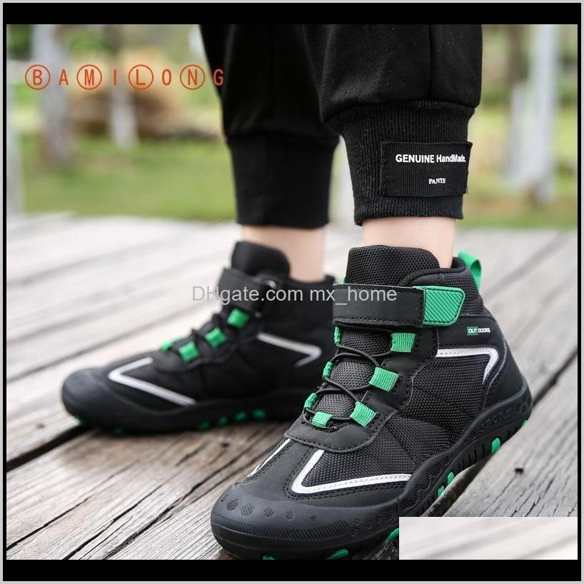 Baby Maternity Drop Delivery 2021 Bamilong Kids Fashion Girls Walking Soft Bottom Sports Running Shoes Casual Hightop Boys Basketball Sneaker
