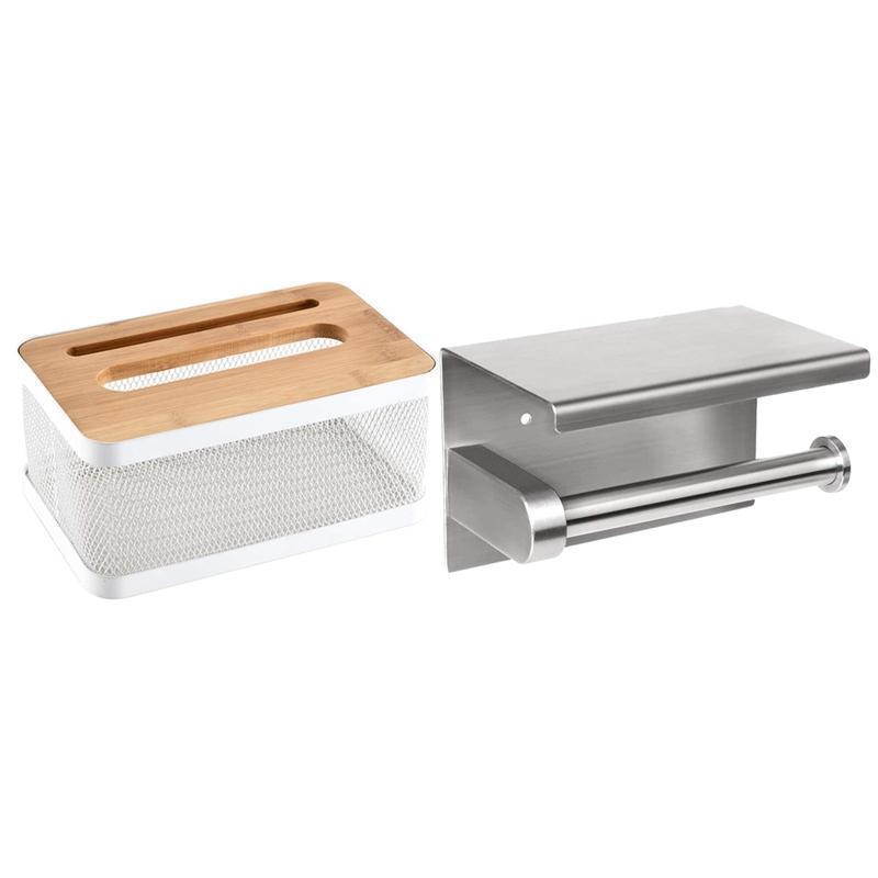 الحديثة الطويل مربع المعادن ورقة الأنسجة مربع غطاء المربع الأنسجة مع علبة المرحاض ذاتية اللصق أو الحفر الجدار المناديل