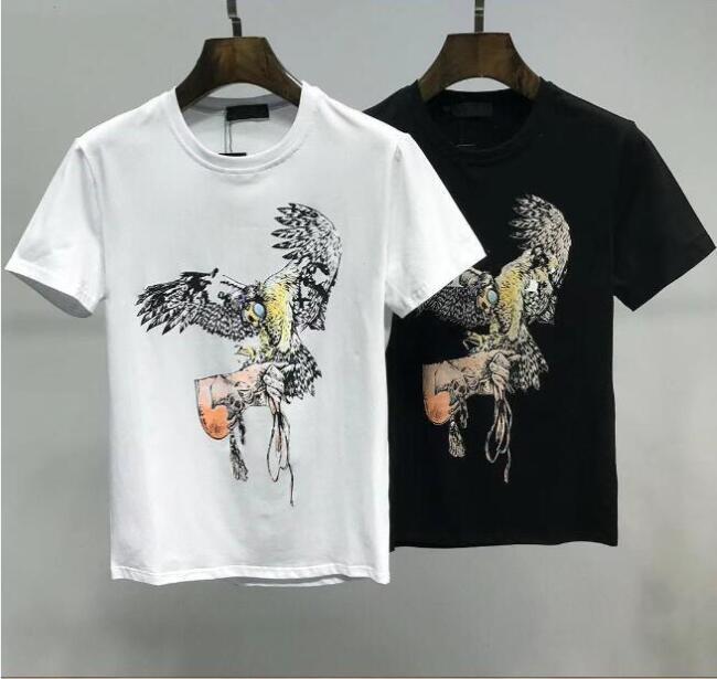 Moda para hombre Tshirts Designers Hombres S Ropa Black White White Tees Manga corta Casual Hip Hop Streetwear T Shirt