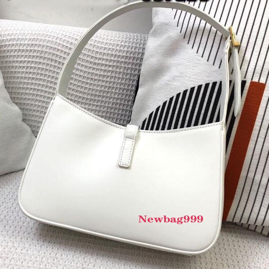 Hobo Leather مصمم حقيبة سرج حقيبة يد صغيرة مصممي الفضي إمرأة مقبض حزمة محفظة محفظة حقائب crossbody