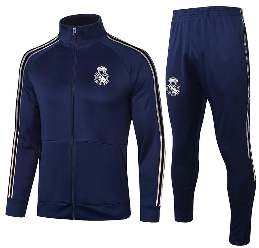 20 21 Mens football zip jacket training suit soccer tracksuit 2020 2021 football tracksuit survetement chandal jogging