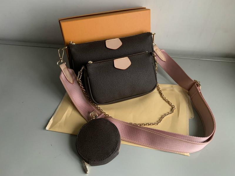 2021 WLKP Womens Bag Mode Totes Schulter Designer Luxurys Männer Geldbörse Rucksack Taschen Neue Crossbody Lady Messenger Brieftasche Handtaschen NDVRR