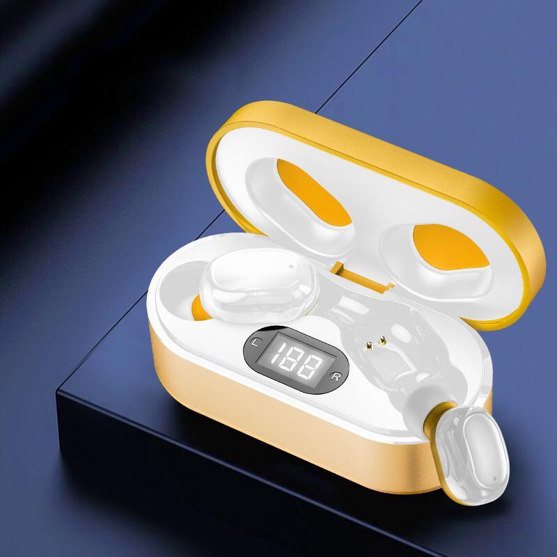 Bluetooth 5.0 Kopfhörer Wireless Kopfhörer Freisprecheinrichtung Kopfhörer Sport Ohrhörer Gaming Headset mit Aufladung